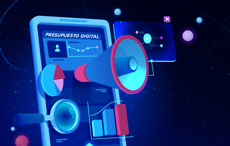 Presupuesto de Marketing Digital en 3 Fases Rápidas